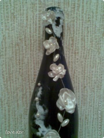 Цветы делала сама из ткани,внутри бусинка. фото 7