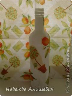 Недавно создала эту бутылочку)) фото 2