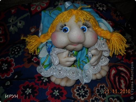 Очень понравились куколки. Я тоже решила попробывать.