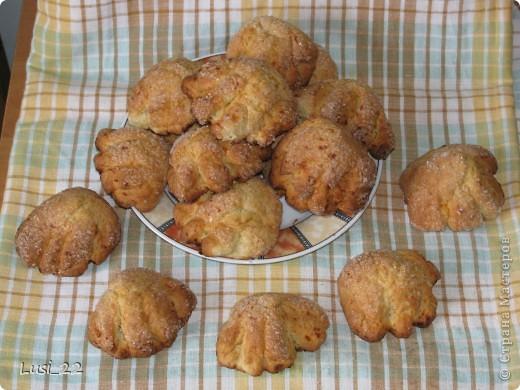 Творожное печенье -Лапки-растопырки. МК фото 1