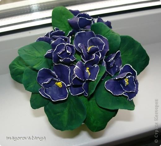 Вот такие непонятные цветы у меня получились.... Задумывались как примула, но что вышло, то вышло)))) Выкинуть вроде жалко... фото 4