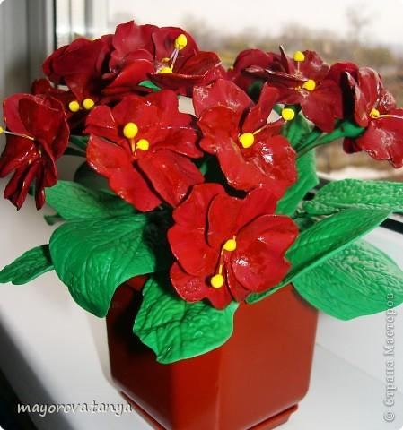 Вот такие непонятные цветы у меня получились.... Задумывались как примула, но что вышло, то вышло)))) Выкинуть вроде жалко... фото 1