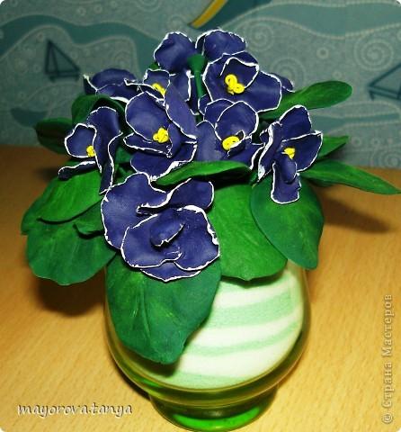 Вот такие непонятные цветы у меня получились.... Задумывались как примула, но что вышло, то вышло)))) Выкинуть вроде жалко... фото 5