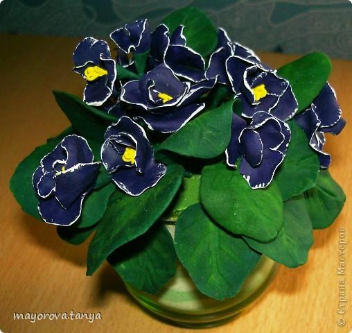 Вот такие непонятные цветы у меня получились.... Задумывались как примула, но что вышло, то вышло)))) Выкинуть вроде жалко... фото 7