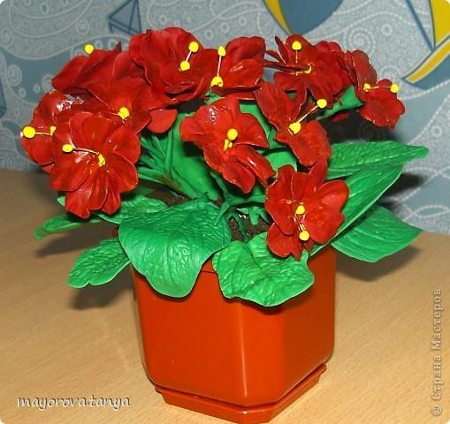 Вот такие непонятные цветы у меня получились.... Задумывались как примула, но что вышло, то вышло)))) Выкинуть вроде жалко... фото 3