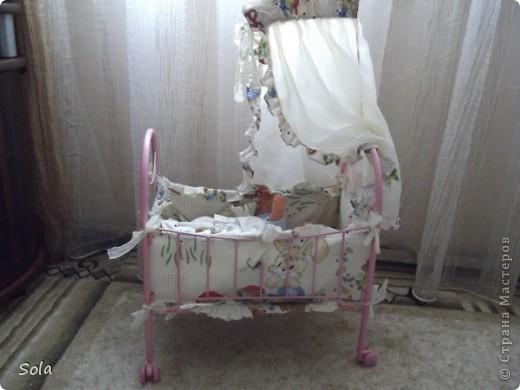 Новый образ кроватки для куклы фото 1