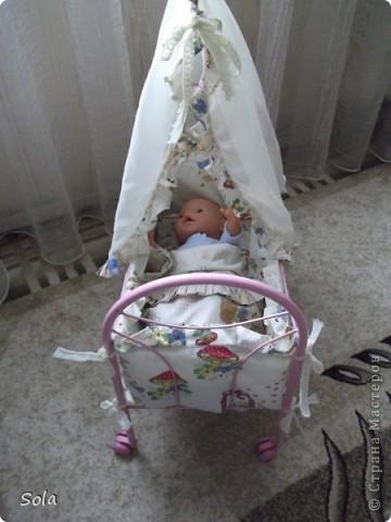Новый образ кроватки для куклы фото 2