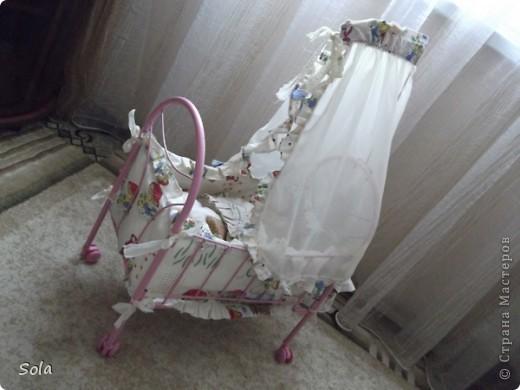 Новый образ кроватки для куклы фото 3