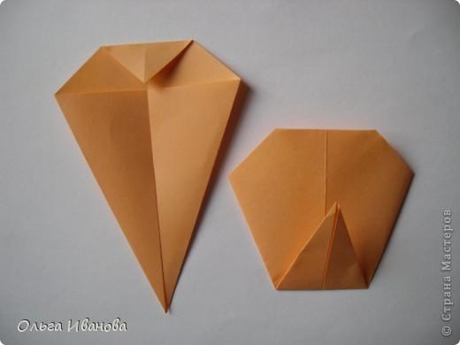 """28, 29 марта в Омске состоялся Фестиваль оригами. Мы с девчонками из кружка тоже приняли участие. Это одна из наших работ """"Бабушкин садик"""".  фото 9"""