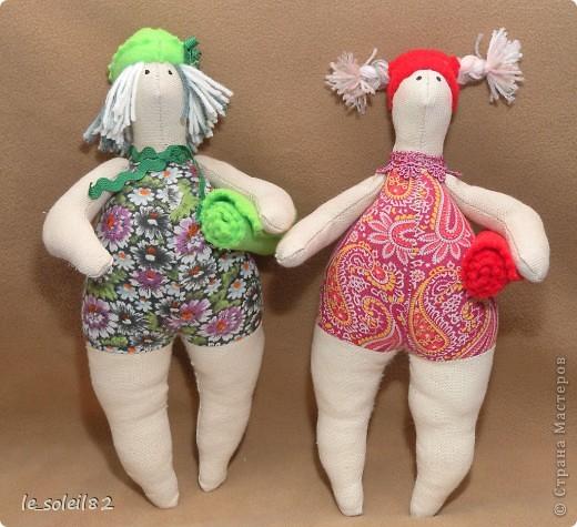 Сшила двух Тильд толстушек. фото 3