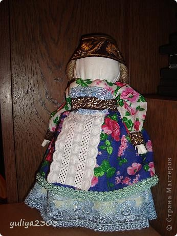 """Кукла """"Толстушечка Костромская"""". Оберег для женщины, которая желает и ждет ребенка. Задача этого оберега - приманить душу ребенка. фото 1"""