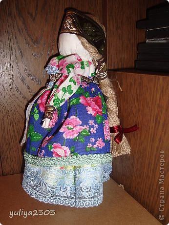 """Кукла """"Толстушечка Костромская"""". Оберег для женщины, которая желает и ждет ребенка. Задача этого оберега - приманить душу ребенка. фото 2"""
