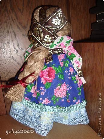 """Кукла """"Толстушечка Костромская"""". Оберег для женщины, которая желает и ждет ребенка. Задача этого оберега - приманить душу ребенка. фото 3"""