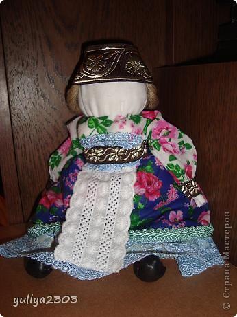"""Кукла """"Толстушечка Костромская"""". Оберег для женщины, которая желает и ждет ребенка. Задача этого оберега - приманить душу ребенка. фото 4"""