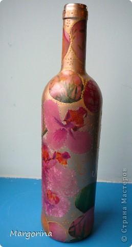 Пришла ко мне мысль сделать подарки на Пасху. Купила вина и оформила в соответствующей тематике. :) фото 4