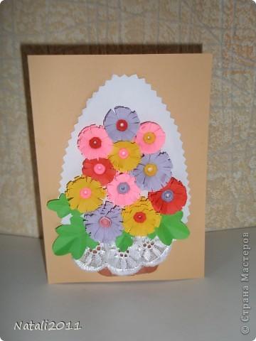 Здравствуйте, хочу показать вам мои пасхальные открыточки. фото 3