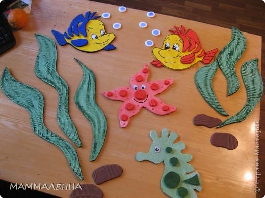 Вот такие рыбки будут плавать у нас в ванной комнате в детском саду. фото 1