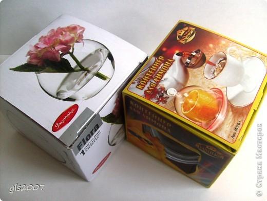 Вазочки уже были, а вот контейнер для лимона увидела только вчера и поняла это моё :) фото 2