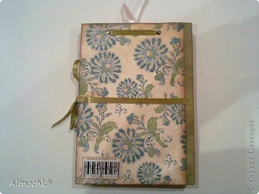 Блокнот сделан для знакомой, которая занимается шитьем на заказ. Она будет делать зарисовки заказанных моделей и записывать мерки клиентов... фото 6