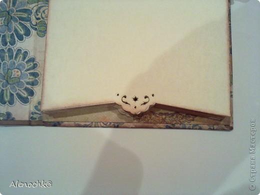 Блокнот сделан для знакомой, которая занимается шитьем на заказ. Она будет делать зарисовки заказанных моделей и записывать мерки клиентов... фото 5