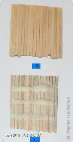МК Мельница из спичек фото 5