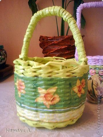 корзиночки к Пасхе для крестниц фото 3