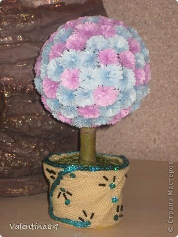 Самое первое деревце,опять же вдохновилась работами Мастериц,Спасибо за идеи! фото 5