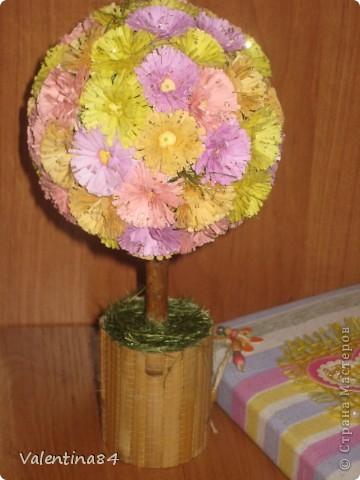 Самое первое деревце,опять же вдохновилась работами Мастериц,Спасибо за идеи! фото 6