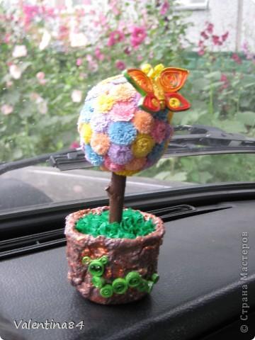 Самое первое деревце,опять же вдохновилась работами Мастериц,Спасибо за идеи! фото 1