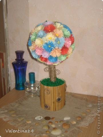 Самое первое деревце,опять же вдохновилась работами Мастериц,Спасибо за идеи! фото 7