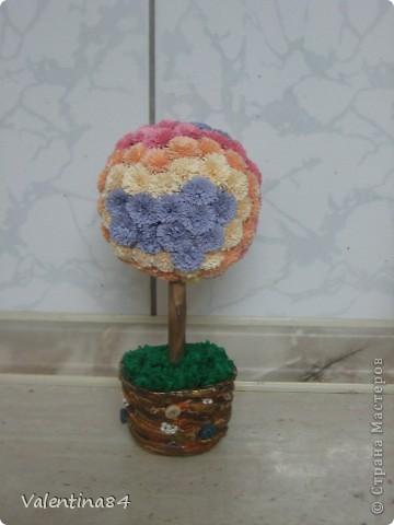 Самое первое деревце,опять же вдохновилась работами Мастериц,Спасибо за идеи! фото 8