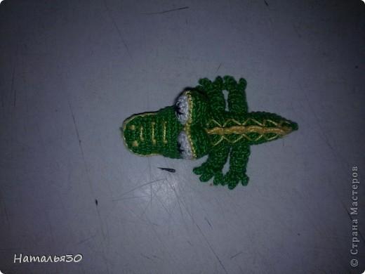 Крокодильчик миниатюрный. фото 1