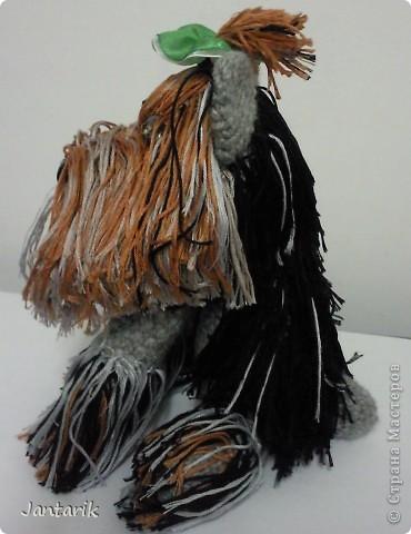 Связать йорка меня вдохновила работа Donb,созданная по МК Натальи Ольшанской. фото 2