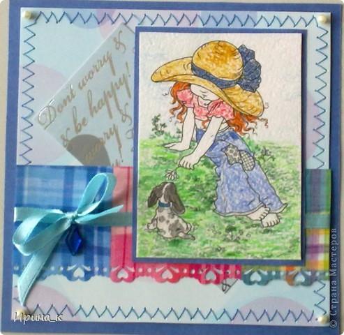 Делала Оля (4 класс) Основа- бумага для пастели фото 1