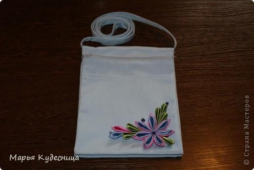 Так я декорировала походную сумочку. фото 1