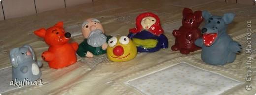 """Появились у нас с сынулей персонажи из """"Колобка"""",нашей любимой сказки. фото 1"""