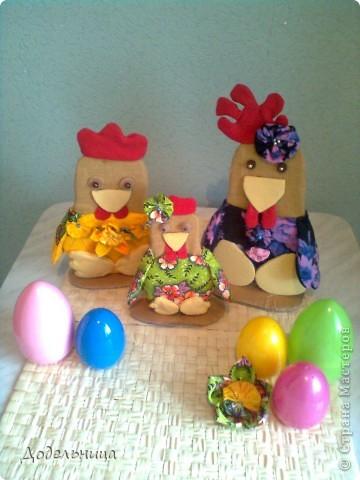 Вот такую семейку я изготовила для праздника Пасхи фото 1