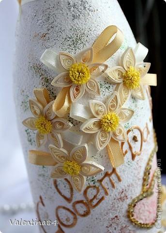 Первая свадебная бутылочка фото 2