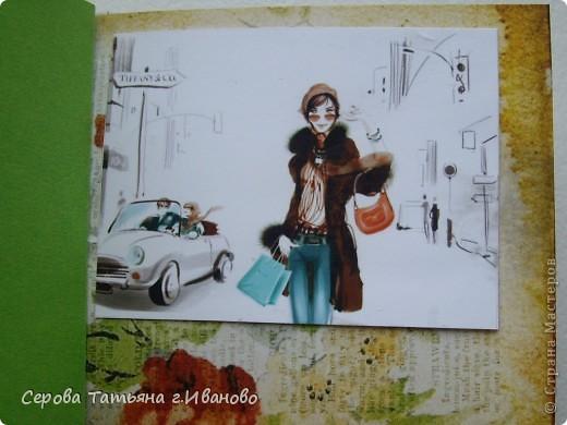 Доброго всем времени суток! Хочу вам показать свой альбом для АТС.  Альбомчик совсем маленький :)  Гортензия (нижний, сиреневый цветок) - это подарок Алены Александровны. А верхний цветок я усмотрела в замечательных работах Елены Красавиной. (Мастер-класс по его изготовлению можно посмотреть здесь http://stranamasterov.ru/node/177764) фото 3