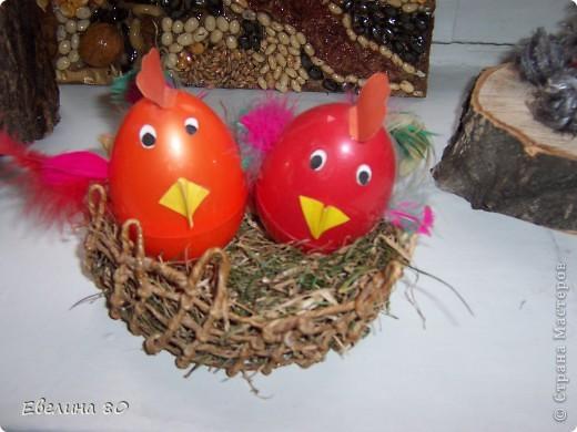 Наши пасхальные цыплята
