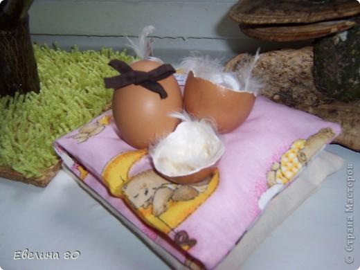 пасхальное яйцо -  выполнил Габриел 3 годика фото 1