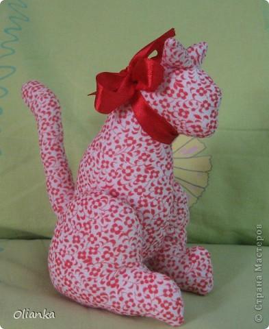 Кот розовый.
