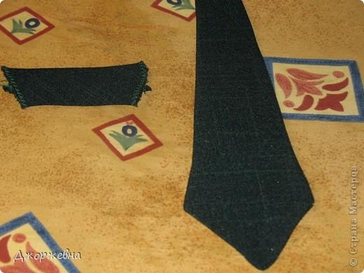 Скоро выпускной в саду. Может кому пригодится выкройка галстука. фото 7