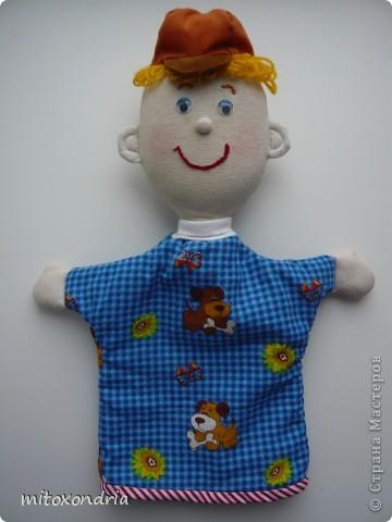 Эту куклу сшила моя мама, ей очень нравятся Тильды. Для работы использовалась выкройка принцессы на горошине, но получилась домработница Гертруда! фото 3