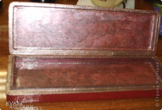 Материалы - заготовка из МДФ, акриловые краски, рисовая бумага, набор для двухшагового кракле IDIGO: 2 лака и паста антик для затирки трещин, акриловый глянцевый лак. фото 3