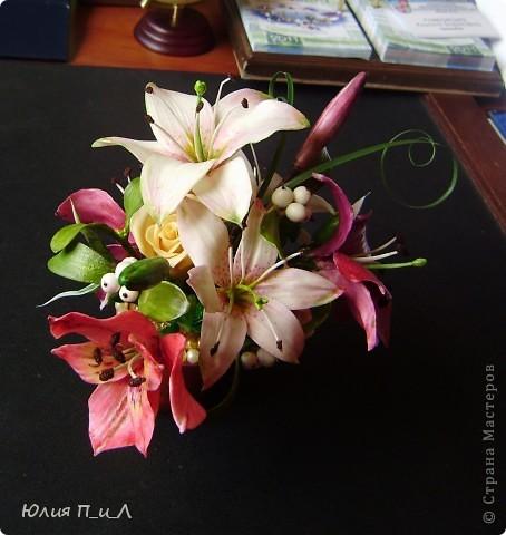 """Я сегодня без МК,но с """"идей""""))) Вот такой букет ждет мою cотрудницу сегодня ко дню рождения. ..Будет ей сюрприз… фото 3"""