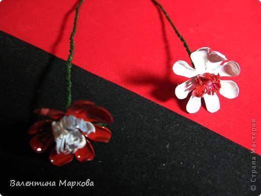 """Такие цветы были подарены нашей """"невесте""""     http://stranamasterov.ru/node/182082 .    Если вам понравился букетик, давайте вместе попробуем сотворить такие же цветы Приступим? фото 16"""