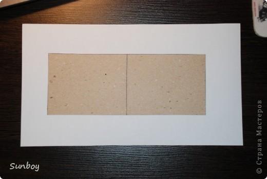 Увидел в Стране такую открытку,но МК так и не нашел...решил сделать открытку а заодно и показать как =) Мой первый МК....Попытаюсь сделать его максимально простым и понятным... фото 5