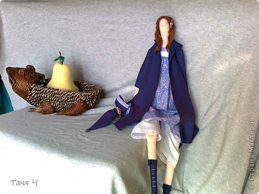 Осенняя Тильда и Тильдогруша ( извините, как-то не подумала грушу  полностью показать) фото 1
