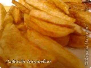 Вот с мамой сделали свой картофель Фри фото 5